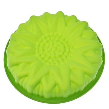 Backwerkzeuge Silikon Umweltfreundlich Kuchen Plätzchen Obstkuchen Backform 1pc