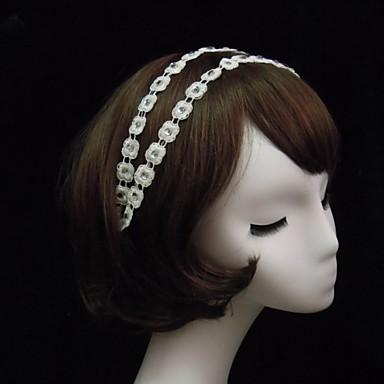 Women's Lace / Rhinestone Headpiece-Special Occasion Headbands