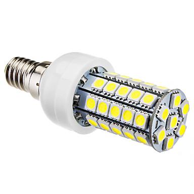 6000lm E14 LED Mais-Birnen T 47 LED-Perlen SMD 5050 Natürliches Weiß 220-240V