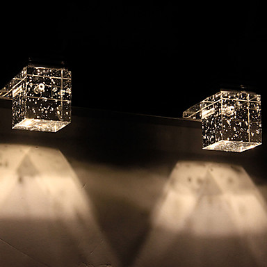 Duvar ışığı Aşağı Doğru Banyo Aydınlatması 6W 110-120V 220-240V Birleştirilmiş LED Modern/Çağdaş Eloktrize Kaplama