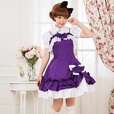 Einteilig/Kleid Niedlich Lolita Accessoires Kleid Für Baumwolle