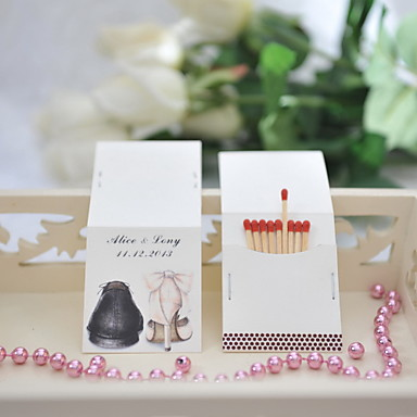 Bryllupsfest Hårdt Kortpapir Blandet Materiale Bryllup Dekorationer Klassisk Tema Alle årstider