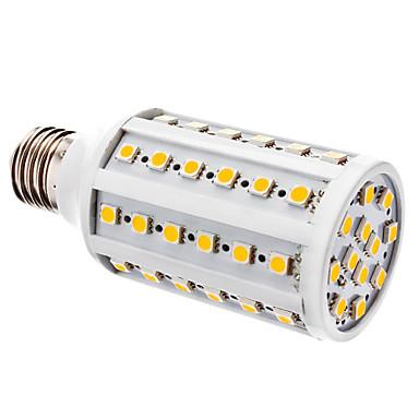 YWXLIGHT® 1pc 800 lm E26 / E27 LED Mısır Işıklar T 60 LED Boncuklar SMD 5050 Sıcak Beyaz / Beyaz 12 V