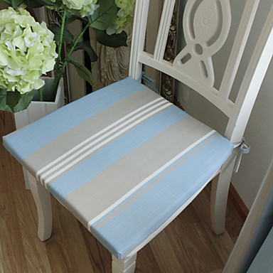 Multi-color Polyester Square Chair Pads