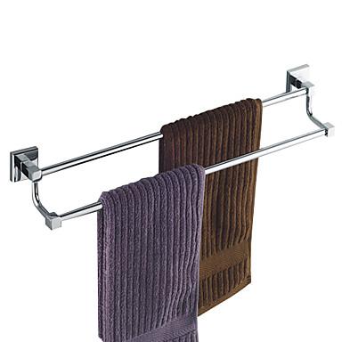 Towel Bar Contemporary Brass Chrome