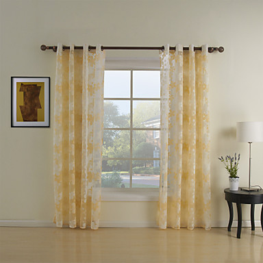 Rod Pocket Grommet Top Tab Top Double Pleated Two Panels Curtain Country Living  Room Polyester Material Sheer Curtains Shades Home 367324 2017 U2013 $21.24 Part 46