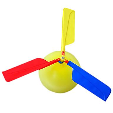 Flying Gadget Baloane Elicopter Jucarii Elicopter Novelty Gonflabile Petrecere Plastic Pentru copii Adulți 1 Bucăți