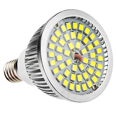 6W 500-300lm E14 LED Spot Lampen MR16 48 LED-Perlen SMD 2835 Natürliches Weiß 100-240V
