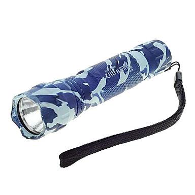 MF-501B LED Taschenlampen / Hand Taschenlampen LED 800lm 5 Beleuchtungsmodus einstellbarer Fokus / Stoßfest / Wiederaufladbar Camping /