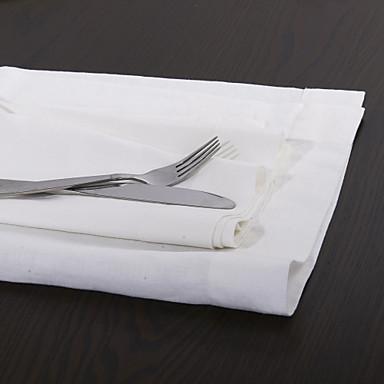 Square Solid Napkin , Linen Material