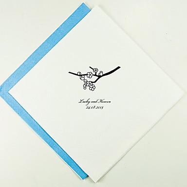 100% jomfru papirmasse Bryllup Servietter - 100 Frokost Servietter Bryllup