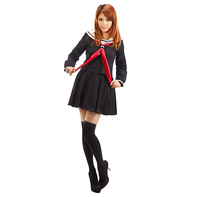 Sailor Cosplay Costume Party Costume Women's Halloween Carnival Festival / Holiday Halloween Costumes Solid Colored Naval Uniforms