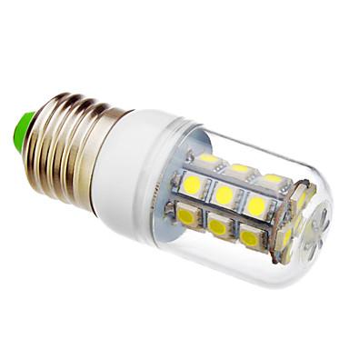 lm LED Mais-Birnen T 27 Leds SMD 5050 Kühles Weiß
