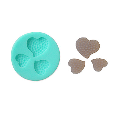 Silicon moale decorare tort mucegai forma de inima