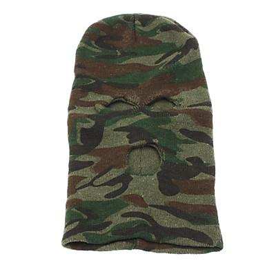 Sports Outdoors Warm Knit Balaclava Face Mask(camouflage)