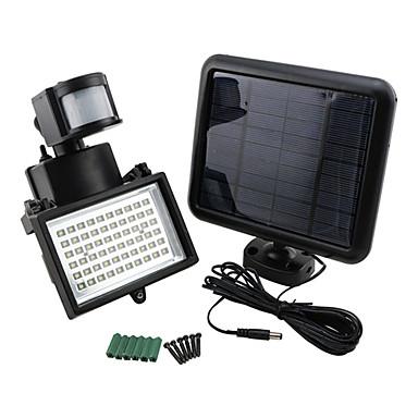9975520 60-LED-uri Bright Solar Power senzor de mișcare de Securitate de perete lumina de inundații Lampa Spotlight