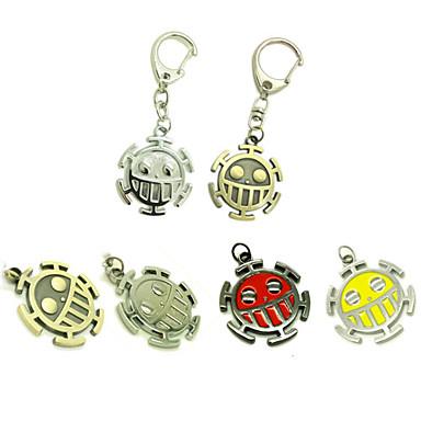 Mehre Accessoires Inspiriert von One Piece Trafalgar Law Anime Cosplay Accessoires Schlüsselanhänger Aleación Herrn heiß