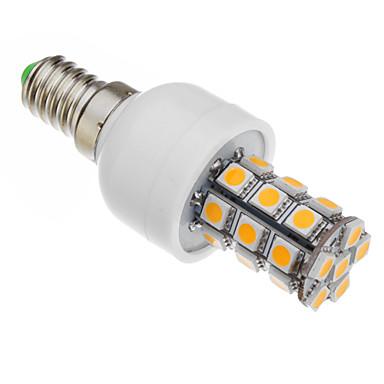 530-560 lm E14 LED corn žárovky T 27 lED diody SMD 5050 Teplá bílá AC 85-265V