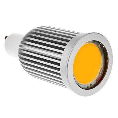 SENCART 780-800lm GU10 LED Spot Işıkları 1 LED Boncuklar COB Sıcak Beyaz 85-265V