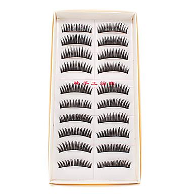 10 Pairs Handmade Natural Fashion Long False Eyelashes Eye Lashes For Makeup