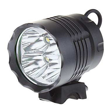 billige Lommelykter & campinglykter-Hodelykter Sykkellykter LED Cree® XM-L T6 4 emittere 3200 lm 3 lys tilstand Lommelykt Camping / Vandring / Grotte Udforskning Sykling Fisking