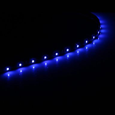 Esnek LED Şerit Işıklar 15 LED'ler Beyaz Mavi DC 12V