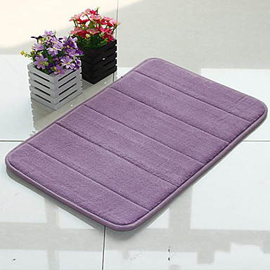 Bath Mat Memory Foam Stribemønst 16x24