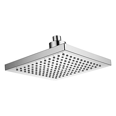 Contemporary Rain Shower Chrome Feature - LED, Shower Head