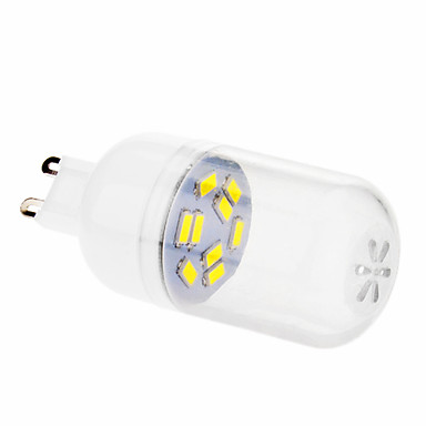 daiwl G9 4w 9x5630smd 280lm 2500-3500k teplé bílé světlo LED žárovka globe (220-240)