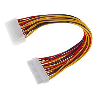 24-pin mužů k ženám: ATX Napájecí prodlužovací kabel (0,3 M)