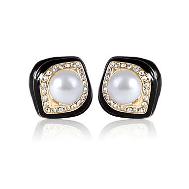 Damen Anderen - Regulär Klassisch Quadratischer Schnitt Ohrringe Für Party