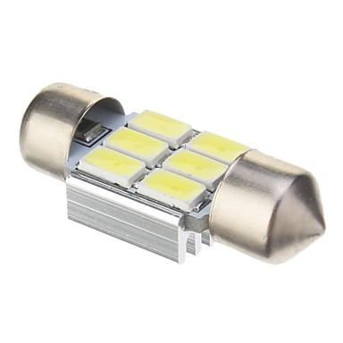Festoon Mașină Alb Rece 2W SMD 5730 6000Lumini de instrumente Lumini pentru numerele de înmatriculare Lumini de frânare Lumini de