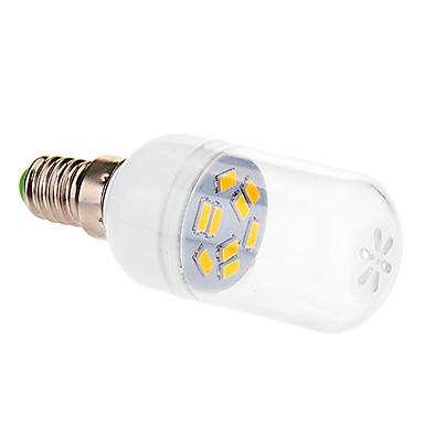 E14 LED Küre Ampuller 9 led SMD 5630 Sıcak Beyaz 290lm 2500-3500K AC 220-240V