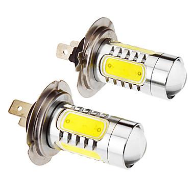 رخيصةأون أضواء السيارات-SO.K 10pcs كيبل الأتصال سيارة لمبات الضوء 7.5 W 400 lm 5 LED ضوء الضباب من أجل