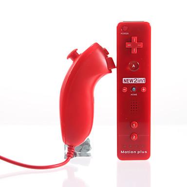 Langaton Peli ohjain Käyttötarkoitus Wii U / Wii ,  Wii MotionPlus Peli ohjain Metalli / ABS 1 pcs yksikkö