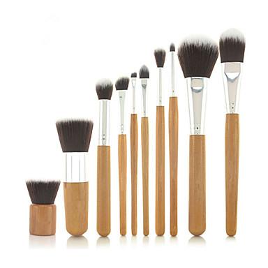 10pcs Profesyonel Makyaj fırçaları Fırça Setleri Sentetik Saç / Suni Fibre Fırça Klasik / Orta Fırça / Küçük Fırça