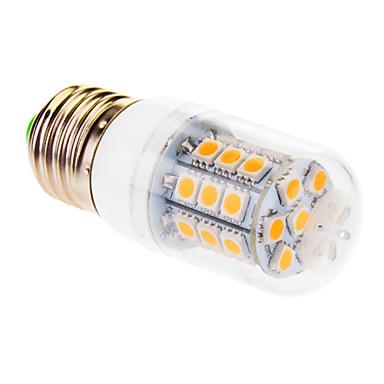 E26/E27 LED corn žárovky T 31 LED diody SMD 5050 Teplá bílá 510lm 2500-3500K AC 220-240V