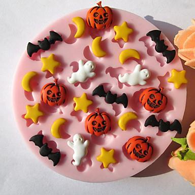 Backwerkzeuge Silikon Umweltfreundlich / Halloween Kuchen / Plätzchen / Obstkuchen Backform 1pc