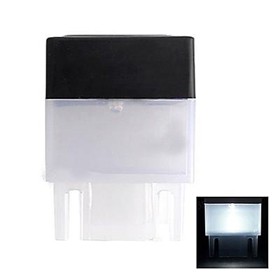 1-LED bílé světlo LED Solar Light náměstí Deck plot Montáž Příspěvek Light
