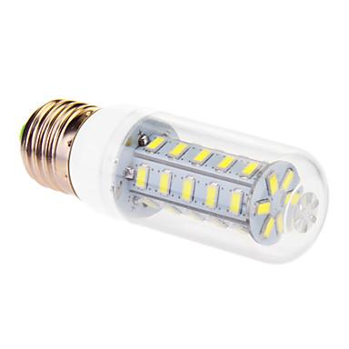 E26/E27 LED kukorica izzók T 36 LED SMD 5630 Meleg fehér Hideg fehér 760lm 3500/6000K AC 220-240V