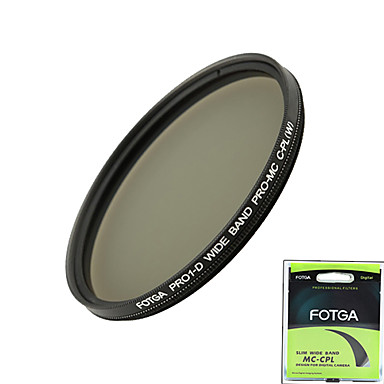 fotga® Pro1-d 58mm ultra slanke mc multi-coatede cpl cirkulært polariserende linse filter