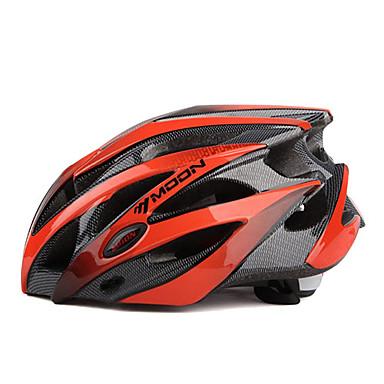 MOON Bike Helmet 25 Ventiler Cykling Halv Skald Bjerg PC EPS Vej Cykling Cykling / Cykel Mountain Bike