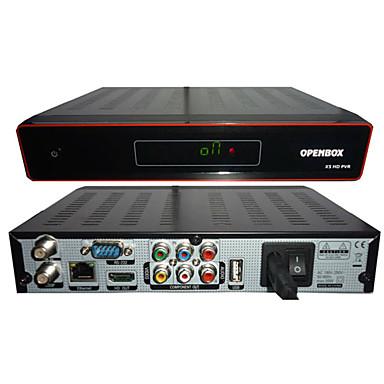 Přijímač Původní Openbox X5 HD digitální satelitní přijímač Sunplus 1512 EYEBOX X5 Internet Sharing