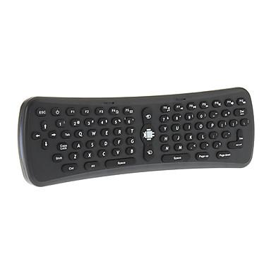 t6 acoperi mouse-ul fără fir Combo mini tastatură pentru Android inteligent cutie tv negru
