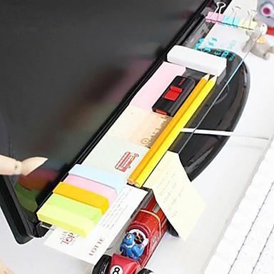 kreativ diy display transparent opbevaringsstativ til skole / kontor
