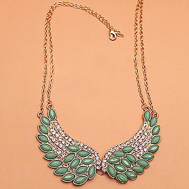 Damen Krystall Diamantimitate Kragen  -  Luxus Modisch Flügel Modische Halsketten Für Party Alltag