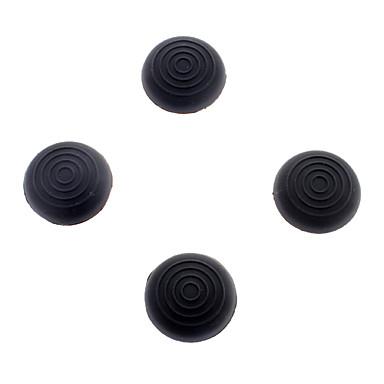 Gel Grip Thumb-Stick Kappen für PS4 Controller (schwarz)