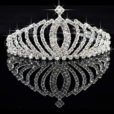 Alloy Tiaras with 1 Wedding / Special Occasion Headpiece
