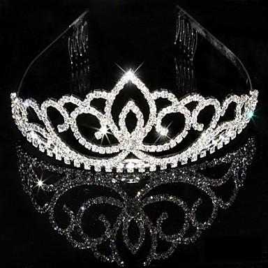 Žene Umjetno drago kamenje Kristal Glava-Vjenčanje Special Occasion Tiaras