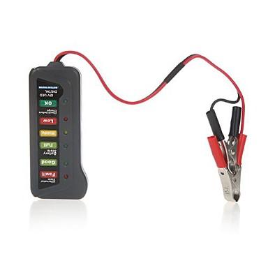Tirol 12V Digital Batteri Generator Tester med 6LED Lights Display